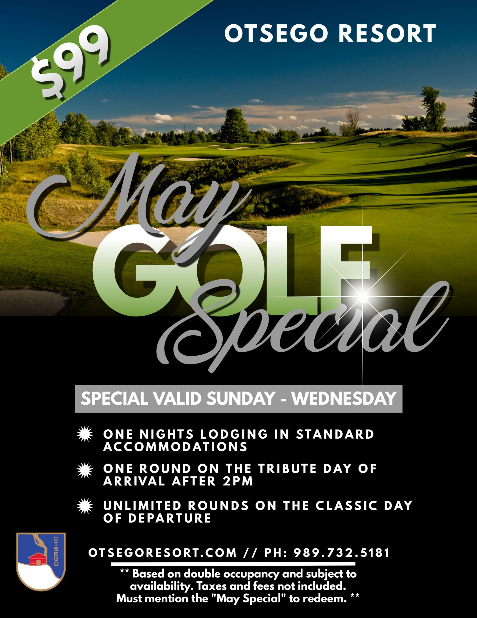 May Golf Special