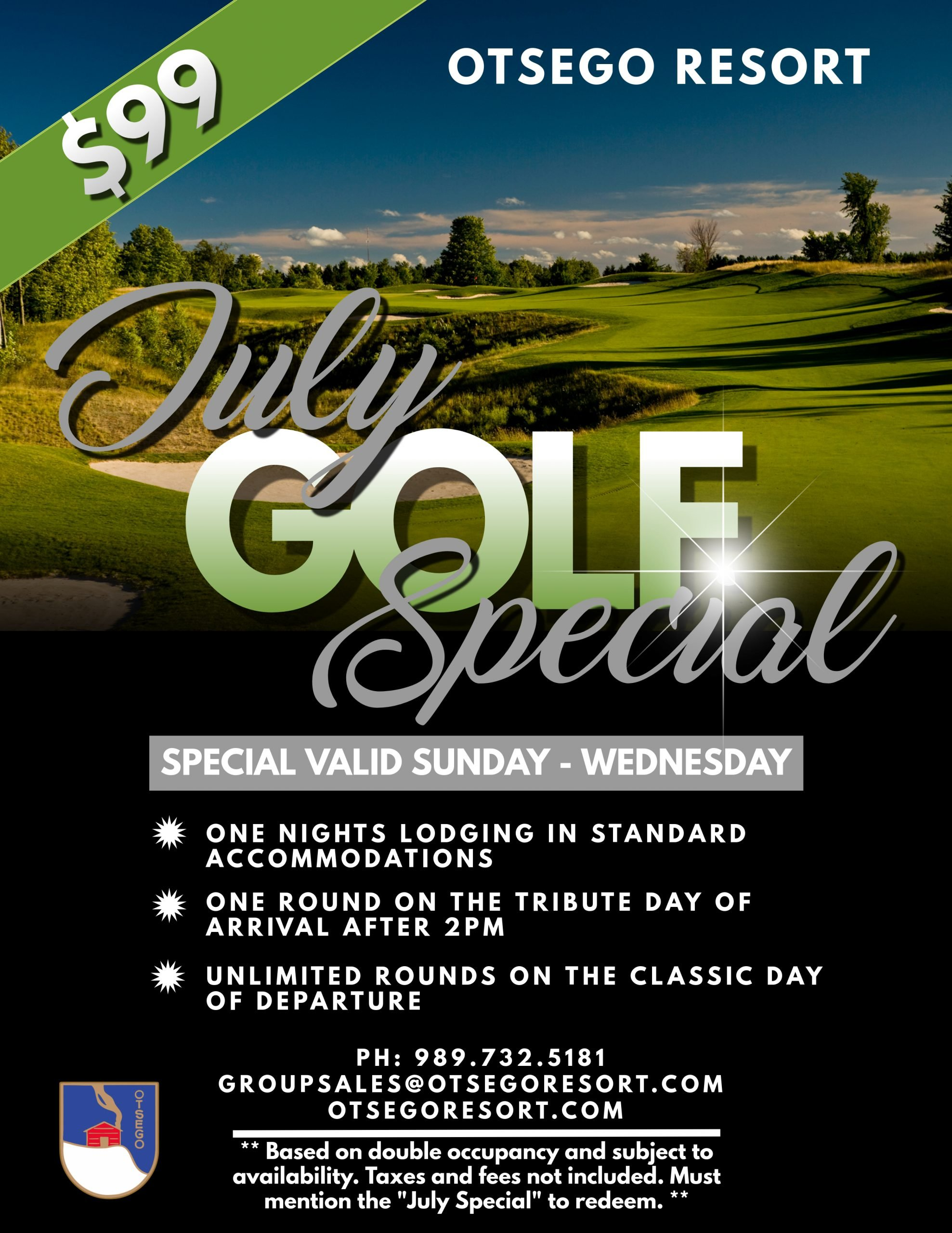 July Golf Special