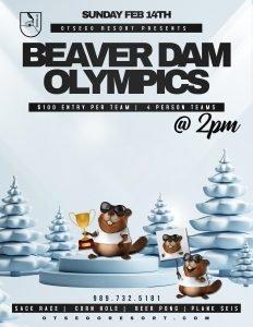 Beaver Dam Olympics 2021 Flyer