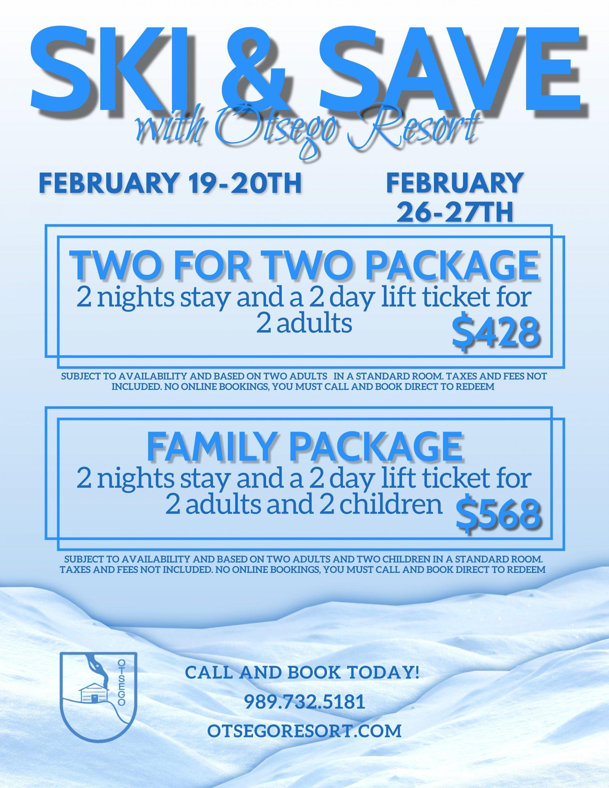 Feb Ski and Save Flyer