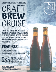 The Craft Brew Cruise Flyer