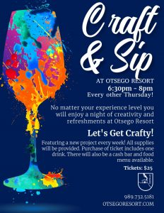 Otsego Resort Craft and Sip